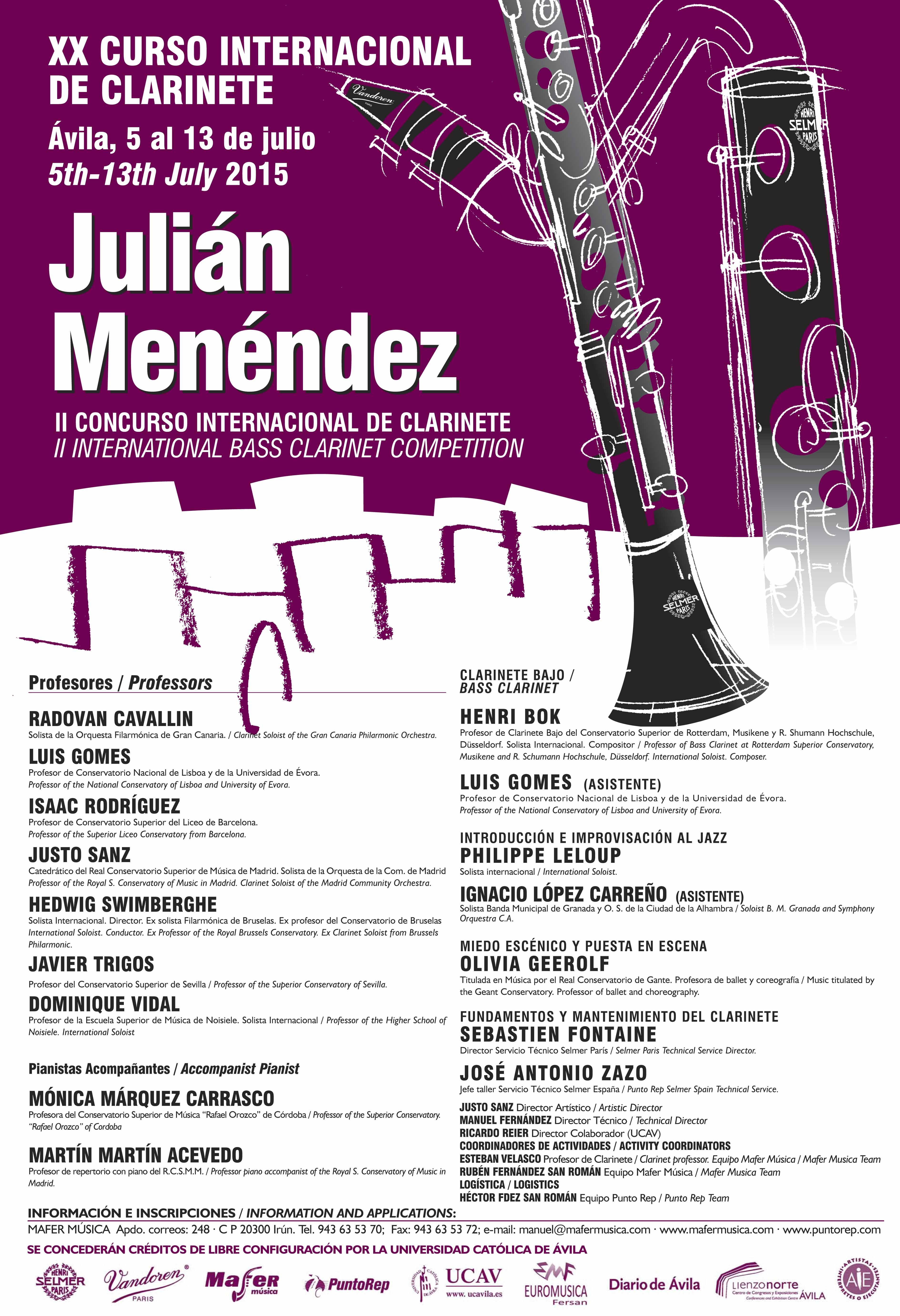 Cartel Julian M 2015.qxd