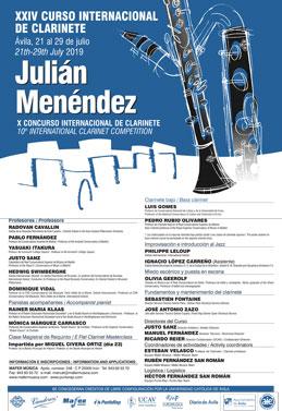 curso internacional de clarinete
